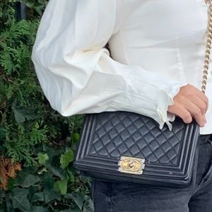 CHANEL Bags - 100% authentic Chanel boy bag
